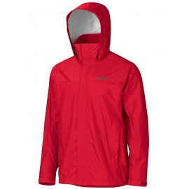 PRECIP ECO PLUS JKT MARMOT COLOR TEAM RED